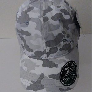 Puma Embroidered Logo Camouflage Gray